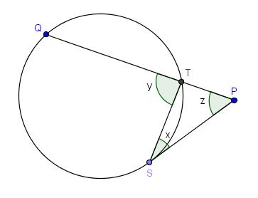 gbc teorema ngulo de secante y tangente exteriormente